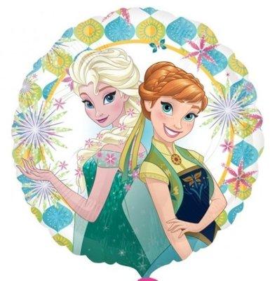 Frozen Fever Anna & Elsa Folie Ballon 45cm