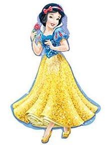 Prinses Sneeuwwitje XL Folie Ballon 93cm