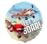 Planes 'Let's Soar' Folie Ballon 66cm