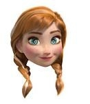 Frozen Anna Masker Karton