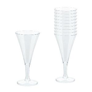Transparant Mini Champagne Glazen 20st