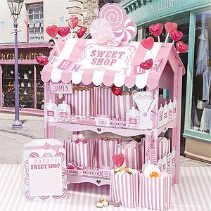 Roze Snoepwinkeltje Traktatie Display