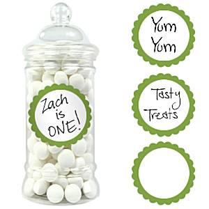Zoete Labels Groen 20st