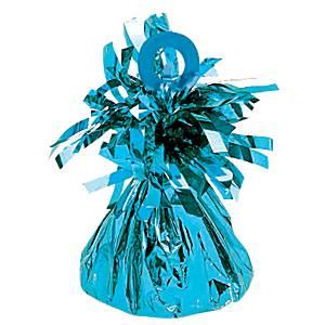 Caribisch Blauw Folie Ballongewichtje
