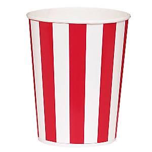 Rood Strepen Popcorn Emmer 4st