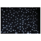 Showtec Stardrape White LED Zwart sterrendoek met witte LEDs 3X6Meter