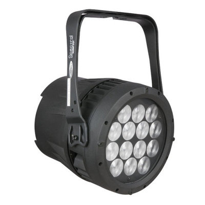 Showtec Spectral M3000 Q4 Tour RGBW LED par spot met electriche zoom 8-40°