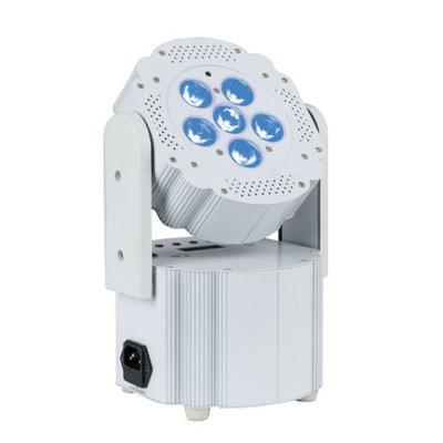 Showtec EventLITE 6/3 incl. Wireless DMX, White RGB LED spot op accu draadloos bedienbaar met afstandsbediening