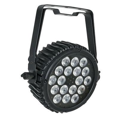 Showtec Compact Par 18 MKII Tour zwart RGB LED spot