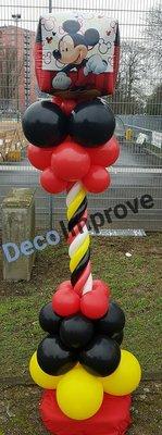 Mickey Mouse Cubez Luxe Ballonnenpilaar voor Buiten