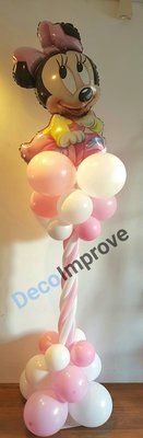 Baby Minnie Luxe Ballonnenpilaar