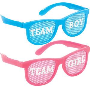 Jongen of Meisje Plastic Brillen 10st