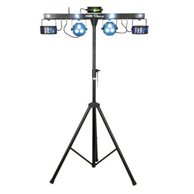 Showtec QFX Multi FX Compact Light Set incl voetcontroller en afstandsbediening