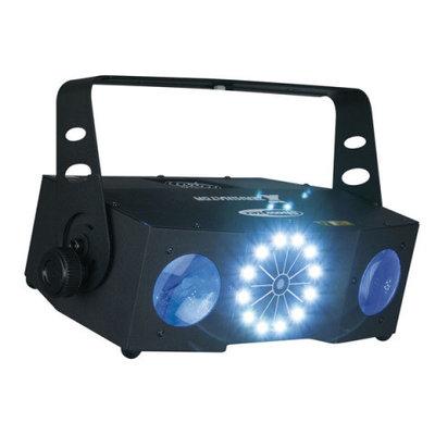 Showtec X-Terminator 3-in-1 Light Effect RGBWA LED Moonflower/Laser en Strobe