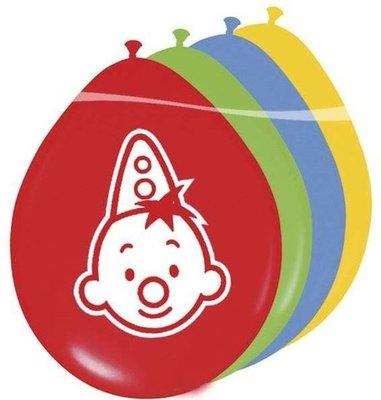 Bumba Gekleurde Latex Ballonnen 8st