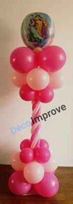 Disney Prinsessen Luxe Ballonnenpilaar