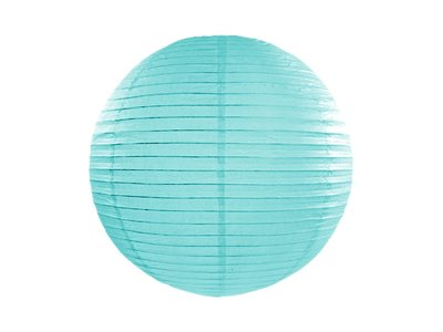 Tiffany Blauw Papieren Lampion 45cm Tiffany Blue