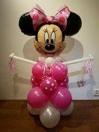 Minnie Mouse Polkadot Karakter Pilaar