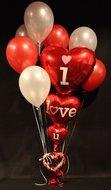 I Love U Tros Helium Ballonnen Boeket