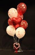 Rode Harten Helium Ballonnen Boeket