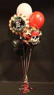 Piraten Verjaardag Helium Ballonnen Boeket
