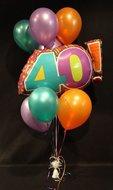 40 Helium Ballonnen Boeket