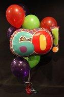 60 Helium Ballonnen Boeket