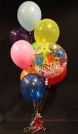 Happy Birthday Bubble Helium Ballonnen Boeket