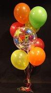 Happy Birthday Bubble Helium Ballonnen Boeket