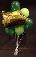 Happy Birthday Tank Helium Ballonnen Boeket