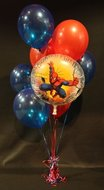 Spiderman Helium Ballonnen Boeket