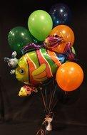Tropische Vissen Helium Ballonnen Boeket