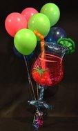 Cocktail Helium Ballonnen Boeket