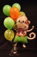 Hoela Aapje Helium Ballonnen Boeket