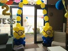 Minions Helium Ballonnenboog