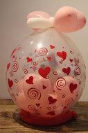 Harten Cadeauballon Stuffer Ballon