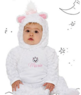 Disney Aristocats Marie Pluizig Baby Kostuum