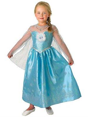 Frozen Koningin Elsa Deluxe Kostuum KInd