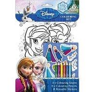 Frozen Kleurset met 8 Kleurplaten
