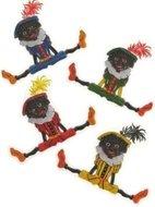 Zwarte Piet Decoratie Assorti. per stuk