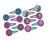 Frozen Glitter Haarclips 12st