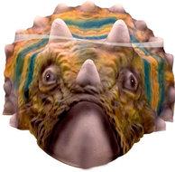 Dinosaurus Triceratops Masker EVA
