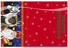 Sinterklaas Choco Plastic Tafelkleed 130x180cm