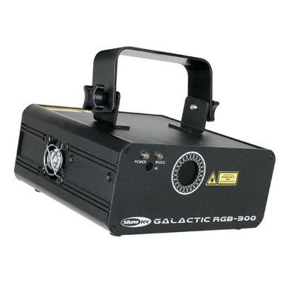 Showtec Galactic RGB-300 Value Line 320mW RGB-laser met IR-afstandsbediening