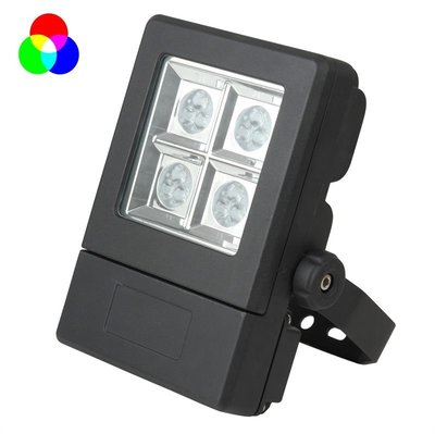 Tronix Floodlight led lamp  RGB LED  25W  12x CREE  IP65