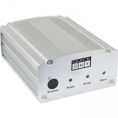 Showtec Quick DMX D512 Plus 512 kanalen met Kalender en Infrarood DMX Dongel Interface