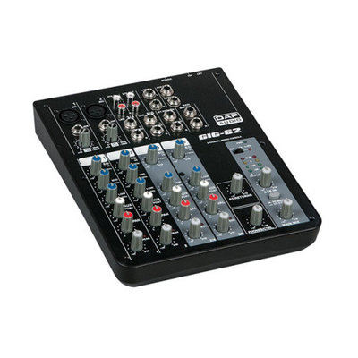 Dap GIG-62 6-Kanaals Live-Mixer Mengpaneel