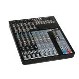 Dap GIG-124C 12-Kanaals Live-Mixer incl. Dynamiek