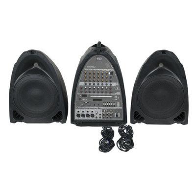 DAP Entertainer Mobile Set Pro Speaker Geluids Systeem incl. Draadloos Microphone en Beltpack