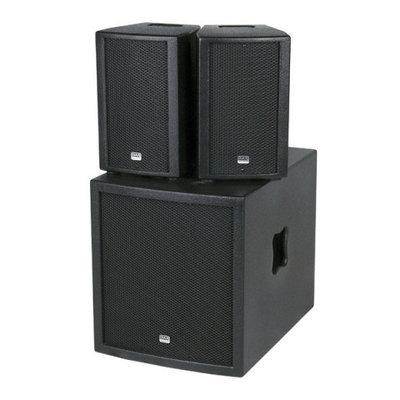 DAP Club Mate I 12 Compacte Actieve Luidsprekerset Speaker set met Versterker